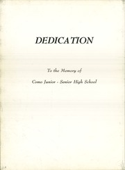 Page 6, 1971 Edition, Como High School - Como Lion Yearbook (Fort Worth, TX) online yearbook collection
