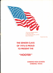 Page 5, 1976 Edition, Chireno High School - Hooter Yearbook (Chireno, TX) online yearbook collection