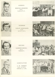 Page 14, 1951 Edition, Port Lavaca High School - Breaker Yearbook (Port Lavaca, TX) online yearbook collection