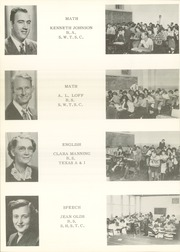 Page 16, 1951 Edition, Port Lavaca High School - Breaker Yearbook (Port Lavaca, TX) online yearbook collection