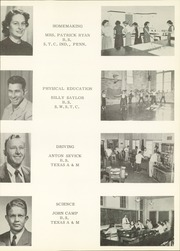 Page 17, 1951 Edition, Port Lavaca High School - Breaker Yearbook (Port Lavaca, TX) online yearbook collection