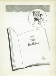 Page 5, 1958 Edition, Milford High School - Bulldog Yearbook (Milford, TX) online yearbook collection