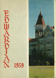 Page 1, 1959 Edition, St Edwards High School - Edwardian Yearbook (Austin, TX) online yearbook collection