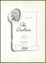 Page 5, 1954 Edition, Avinger High School - Indian Yearbook (Avinger, TX) online yearbook collection