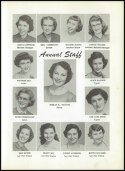 Page 9, 1954 Edition, Avinger High School - Indian Yearbook (Avinger, TX) online yearbook collection