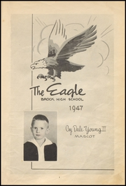 Page 7, 1947 Edition, Brock High School - Eagle Yearbook (Weatherford, TX) online yearbook collection