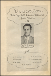 Page 9, 1947 Edition, Brock High School - Eagle Yearbook (Weatherford, TX) online yearbook collection