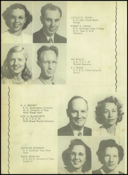 Page 14, 1948 Edition, Patti Welder High School - Stingaree Yearbook (Victoria, TX) online yearbook collection