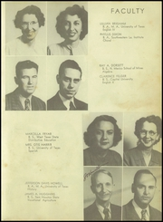 Page 15, 1948 Edition, Patti Welder High School - Stingaree Yearbook (Victoria, TX) online yearbook collection