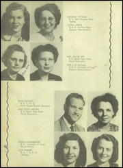 Page 16, 1948 Edition, Patti Welder High School - Stingaree Yearbook (Victoria, TX) online yearbook collection