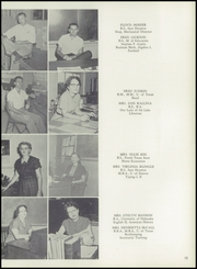 Page 17, 1956 Edition, Patti Welder High School - Stingaree Yearbook (Victoria, TX) online yearbook collection