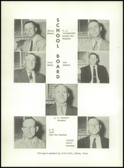 Page 8, 1957 Edition, Channing High School - Eagle Yearbook (Channing, TX) online yearbook collection