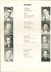 Page 12, 1953 Edition, Handley High School - Greyhound Yearbook (Fort Worth, TX) online yearbook collection