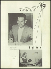 Page 11, 1956 Edition, Handley High School - Greyhound Yearbook (Fort Worth, TX) online yearbook collection