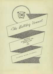 Page 7, 1948 Edition, Bynum High School - Kennel Yearbook (Bynum, TX) online yearbook collection