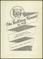 Page 7, 1952 Edition, Bynum High School - Kennel Yearbook (Bynum, TX) online yearbook collection