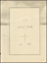 Page 7, 1937 Edition, Whitharral High School - Pantera Yearbook (Whitharral, TX) online yearbook collection