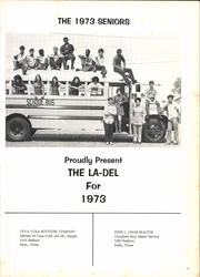 Page 5, 1973 Edition, Delmar High School - La Del Yearbook (Paris, TX) online yearbook collection