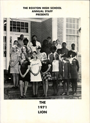 Page 5, 1971 Edition, Roxton High School - Lion Yearbook (Roxton, TX) online yearbook collection