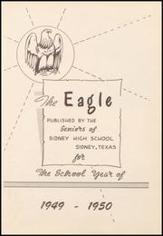 Page 7, 1950 Edition, Sidney High School - Eagle Yearbook (Sidney, TX) online yearbook collection