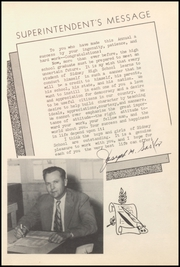 Page 13, 1952 Edition, Sidney High School - Eagle Yearbook (Sidney, TX) online yearbook collection