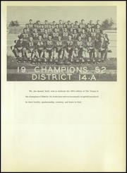 Page 7, 1953 Edition, Talco High School - Trojan Yearbook (Talco, TX) online yearbook collection