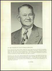 Page 10, 1954 Edition, Talco High School - Trojan Yearbook (Talco, TX) online yearbook collection
