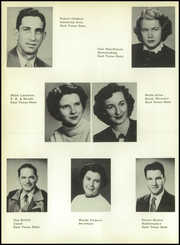 Page 14, 1954 Edition, Talco High School - Trojan Yearbook (Talco, TX) online yearbook collection