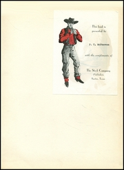 Page 3, 1954 Edition, Talco High School - Trojan Yearbook (Talco, TX) online yearbook collection