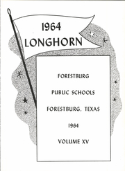 Page 9, 1964 Edition, Forestburg High School - Longhorn Yearbook (Forestburg, TX) online yearbook collection