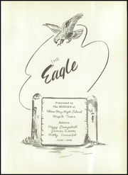 Page 7, 1949 Edition, Three Way High School - Eagle Yearbook (Maple, TX) online yearbook collection