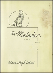 Page 7, 1951 Edition, Adrian High School - El Matador Yearbook (Adrian, TX) online yearbook collection