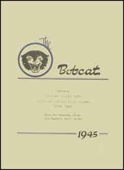 Page 7, 1945 Edition, Pleasant Grove High School - Bobcat Yearbook (Dallas, TX) online yearbook collection