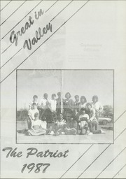 Page 5, 1987 Edition, Valley High School - Patriot Yearbook (Turkey, TX) online yearbook collection