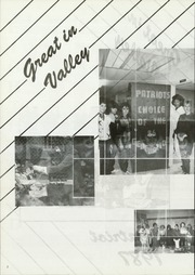 Page 6, 1987 Edition, Valley High School - Patriot Yearbook (Turkey, TX) online yearbook collection