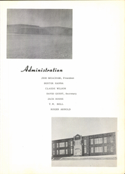Page 9, 1959 Edition, Turkey High School - Turkey Yearbook (Turkey, TX) online yearbook collection