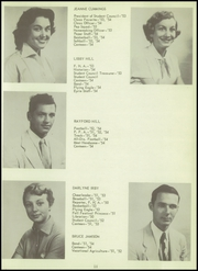 Page 15, 1954 Edition, Sundeen High School - Eyrie Yearbook (Corpus Christi, TX) online yearbook collection