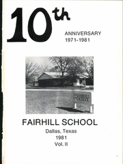 Page 5, 1981 Edition, Fairhill High School - Palladian Yearbook (Dallas, TX) online yearbook collection
