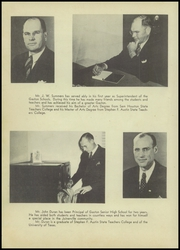 Page 14, 1946 Edition, Gaston High School - Gusher Yearbook (Joinerville, TX) online yearbook collection
