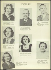 Page 16, 1950 Edition, Gaston High School - Gusher Yearbook (Joinerville, TX) online yearbook collection
