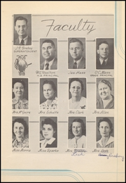 Page 11, 1942 Edition, Prairie Valley High School - Kennel Yearbook (Nocona, TX) online yearbook collection