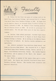 Page 13, 1942 Edition, Prairie Valley High School - Kennel Yearbook (Nocona, TX) online yearbook collection