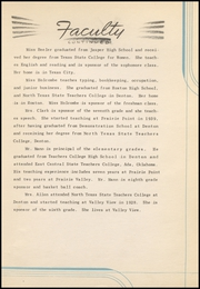 Page 15, 1942 Edition, Prairie Valley High School - Kennel Yearbook (Nocona, TX) online yearbook collection