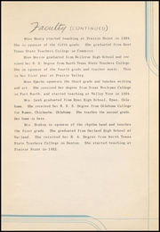Page 17, 1942 Edition, Prairie Valley High School - Kennel Yearbook (Nocona, TX) online yearbook collection