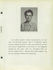 Page 7, 1955 Edition, Prairie Valley High School - Kennel Yearbook (Nocona, TX) online yearbook collection
