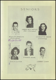 Page 15, 1947 Edition, Megargel High School - Mustang Yearbook (Megargel, TX) online yearbook collection