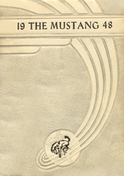 Page 1, 1948 Edition, Megargel High School - Mustang Yearbook (Megargel, TX) online yearbook collection
