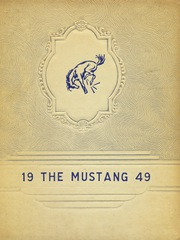 Page 1, 1949 Edition, Megargel High School - Mustang Yearbook (Megargel, TX) online yearbook collection