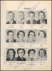 Page 17, 1953 Edition, Megargel High School - Mustang Yearbook (Megargel, TX) online yearbook collection