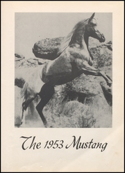 Page 7, 1953 Edition, Megargel High School - Mustang Yearbook (Megargel, TX) online yearbook collection